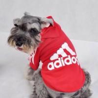 Baju Kaos Mantel Jaket Anjing Adidog