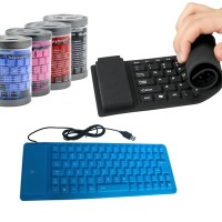 Keyboard Mini Flexible USB - Mini Keyboard Silikon