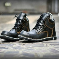 SEPATU READWING SAFETY KULIT BLACK