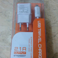 Travel Charger Evercoss Led Indikator 2.1a For Elevate Y A66a Original