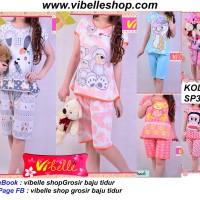 SP34xxx - Vibelle shop grosir baju tidur piyama baby doll daster murah