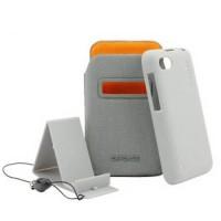 Capdase Bb Samoa 9720 Case, Blackberry Id Pocket Value Set - Abu-abu