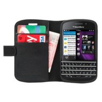 Capdase BB Samoa 9720, BlackBerry Folder Case Sider Classic - Hitam