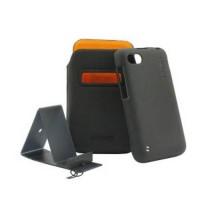 Capdase Bb Samoa 9720 Case, Blackberry Id Pocket Value Set - Hitam