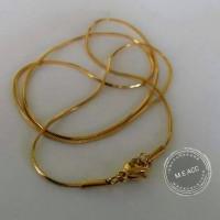harga Kalung Titanium Gold Stainless Calm K03 - Kalung Cewek Cowok Tokopedia.com
