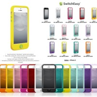 harga Switcheasy Colors Soft Full Cover Casing Sarung Case Iphone 5 - 5s Tokopedia.com