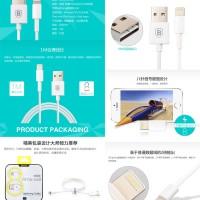 Baseus 8-Pin USB Data Charging Lightning Cable 1M IPhone IPod IPad