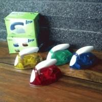 Setrika Listrik Mini Iron Travel Baju Strika Laundry Celana Kaos Sprei