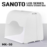 SANOTO LED Photo Studio MK50 Portable Light Box 50cm Next Generation