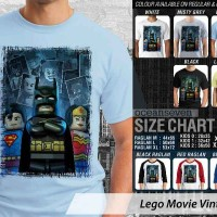 harga Kaos Distro Oceanseven - Batman Vs Superman Lego Tokopedia.com
