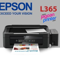 Printer Epson L365 All in One Print, Scan, Copy, WiFi Ink Tank
