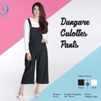 DUNGARE CULOTTES PANTS