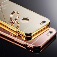 iPhone 4 4s Aluminum Metal Bumper Frame Mirror Plating Hard Back Case