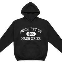jaket hoodie / sweater magcon boys nash grier