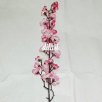 bunga sakura/bunga plastik/dekorasi rumah/buket bunga