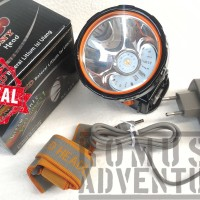 harga DONY KC-169 HEADLAMP SENTER KEPALA LED KUNING FOKUS BELOR Tokopedia.com