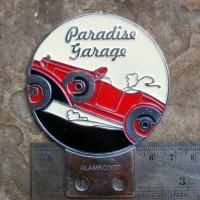 harga Vintage Paradise Garage Car Badge London Vespa Lambretta Tokopedia.com