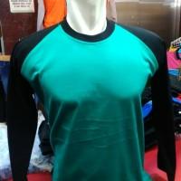 Kaos Ragelan Panjang Tosca-Hitam | Kaos Cowok | Cotton Shirt