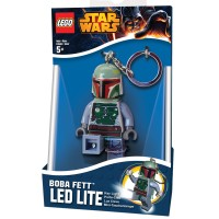 Lego Led Lite Keychain (Key Light) - Boba Fett