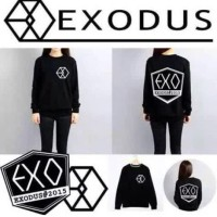 EXODUS LONGSLEEVE sweatshirt sweater kaos baju exo do sehun kpop korea