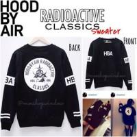 HBA RADIOACTIV LONGSLEEVE sweatshirt sweater kaos bts exo bigbang kpop