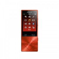 Sony High Resolution Audio Player Walkman NWZ-A25 - Cinnabar Red