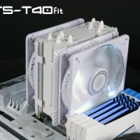 HSF Enermax ETST40FW / ETS-T40F-W with Dual Fan 12CM White Edition