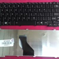Keyboard Netbook Toshiba NB520 NB525 NB500 NB505 NB200 NB205 Hitam