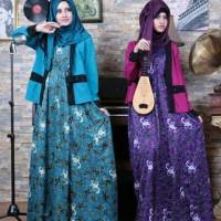 Setelan Dress Batik Keris Aurellie