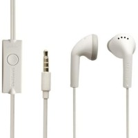 ORIGINAL SAMSUNG EHS61A STEREO EARPHONE WARNA PUTIH