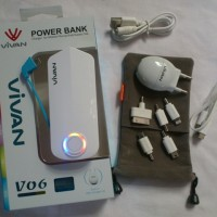 POWERBANK VIVAN V06 6000MAH