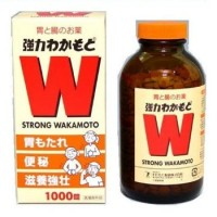 WAKAMOTO Strong Obat Maag/Nyeri Lambung (1000Tabs) - Made In Japan