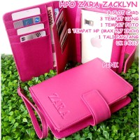 HPO ZARA ZACKLYN ZTEN, ANDROID, IPHONE, SAMSUNG (max 5,7 inch) PINK