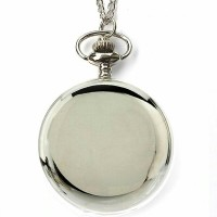 harga Pocket Watch Necklace/ Kalung Jam Saku Silver Polos Chromatic Tokopedia.com