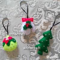 Jual Hiasan Gantungan Pohon Natal Murah