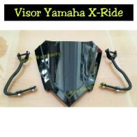 Aksesoris visor windshield yamaha xride x ride ttx