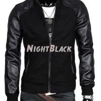 harga Blazer Jacket jeket Cowok Semi Kulit + Fleece New Style Keren Glamour Tokopedia.com