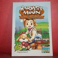 Buku Panduan PS2 Harvest Moon 3 Save The Homeland