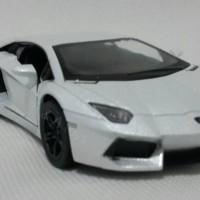 Miniatur Lamborghini Aventador Lp700-4 White