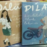 Novel Dilan 1 & 2 (1Set)