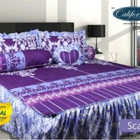 sprei my love calivornia scarlet/seprei my love/sepraii bed cover