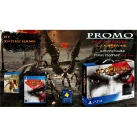PROMO PS4 BUNDLE GOW III REMASTERED INCLUDE GAME FINAL FANTASY TYPE O