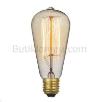 Lampu bohlam Edison Oval