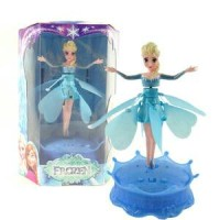 Elsa Doll - Flying with Song (Let it Go)