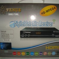 Receiver Parabola Venus HD NetSat (Supoort USB Modem, USB Wifi, LAN)