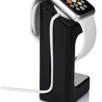 Jual Apple Watch Wireless Charging Dock Stand - Black Murah