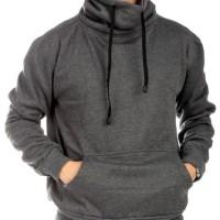 Hoodie HLPLS model KONOHAMARU Abu Tua. Bahan Fleece. Allsize