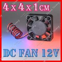 4x4 cm Cooling Fan 12V DC Kipas Mini Pendingin 4 x 4cm