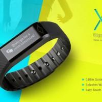 jam tangan pintar jam tangan hp Vidonn X6 SmartBand - Black