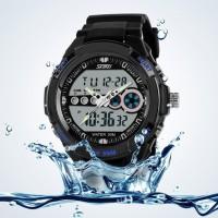 Jam Tangan Digital + Analog Casio Men Sport LED Watch - SKMEI-0942